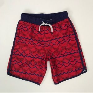 Lands End boys swim trunks, size 8